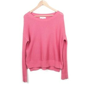 LOFT Sweaters - LOFT Punch Pink Soft Knit Crew Neck Sweater S- L